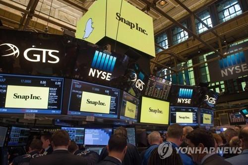 스냅, IPO 후 첫 실적 발표 최악…주가 22% 폭락