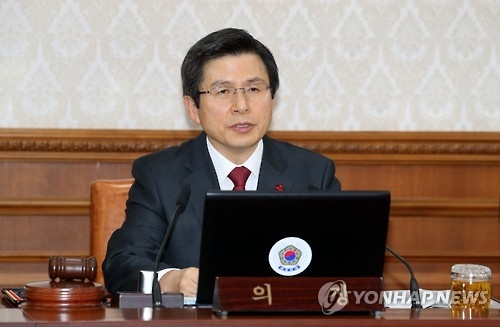 Acting president says S. Korea-Japan deal on enslavement should be respected