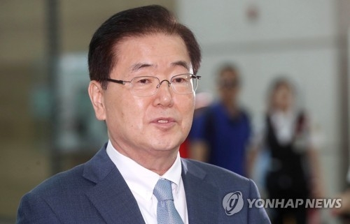 Chung Eui-yong, chief of South Korea's National Security Office