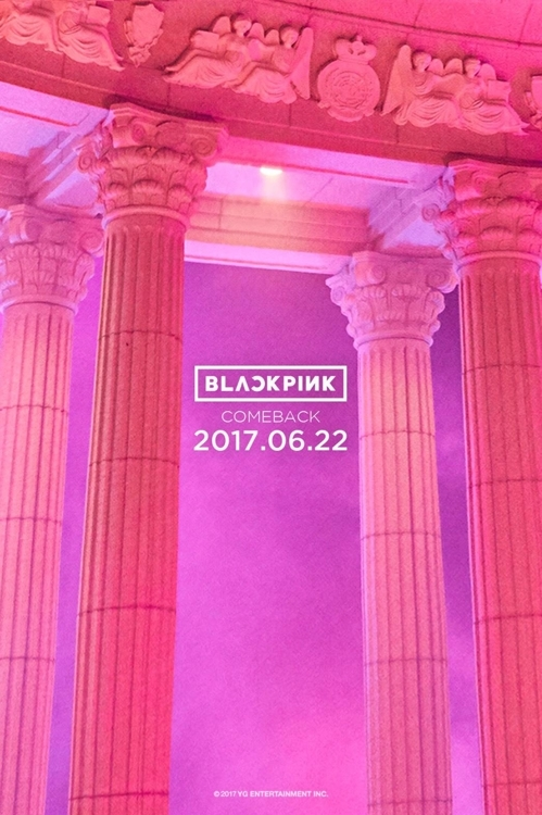 Above is a teaser image for BLACKPINK's upcoming album taken from YG Entertainment's official blog on June 13, 2017. (Yonhap)