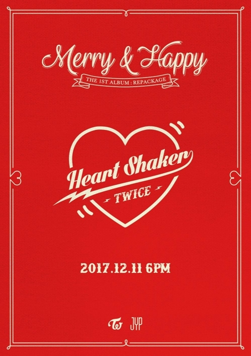 "A teaser image for TWICE's upcoming new song ""Heart Shaker"" provided by JYP Entertainment (Yonhap)"