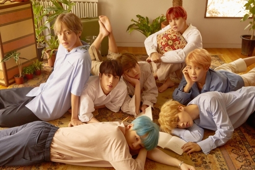 This file photo provided by Big Hit Entertainment shows BTS. (Yonhap)