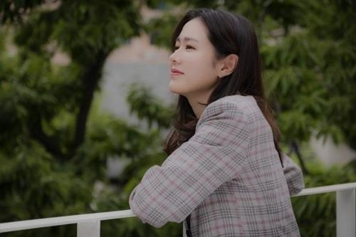 "This photo provided by MSTeam Entertainment shows actor Son Ye-jin, who recently appeared on JTBC's ""Something in the Rain."" (Yonhap)"