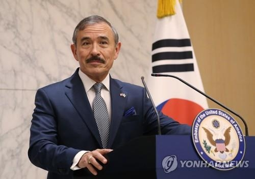 This file photo shows new U.S. Ambassador to South Korea Harry Harris. (Yonhap)