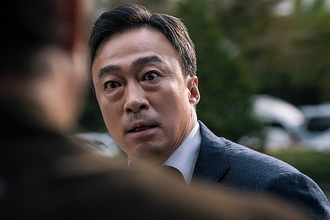 "A still from ""The Witness"" (Yonhap)"