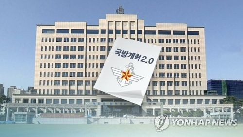 This image, provided by Yonhap News TV, shows the defense ministry's building in Seoul. (Yonhap)