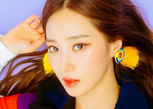 This image of Yuri was provided by SM Entertainment. (Yonhap)