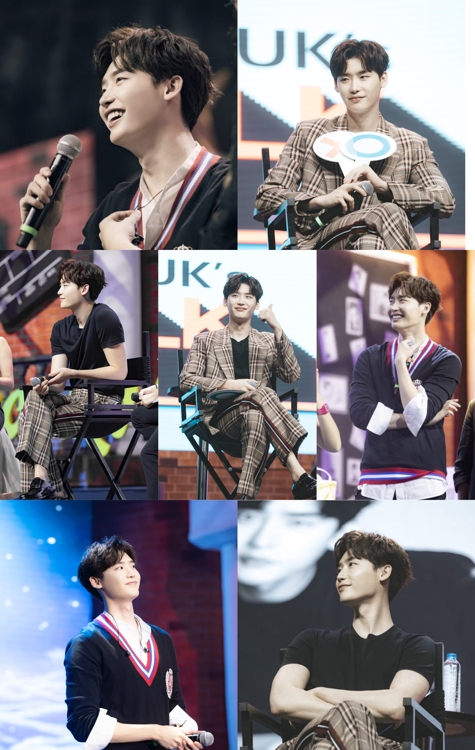 Actor Lee Jong-suk captivates 21,000 fans on Asian tour