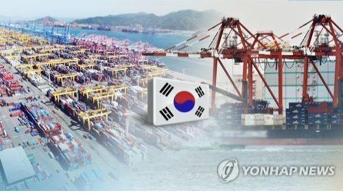 (LEAD) S. Korea's exports up 4.5 pct on-year in Nov. - 1