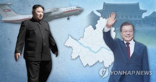 (LEAD) No signs of progress on N.K. leader's possible Seoul visit: Cheong Wa Dae - 1