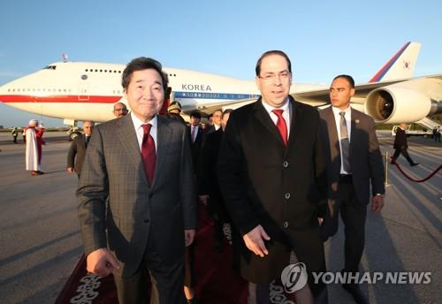 S. Korean PM vows to speed up cooperation with Tunisia
