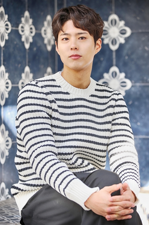 Actor Park Bo-gun poses for photos ahead of an interview with Yonhap News Agency on Jan. 28, 2019. (Yonhap)