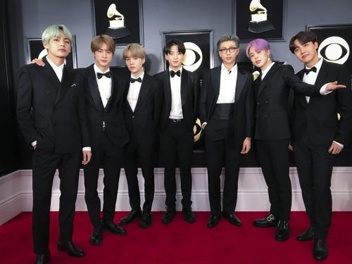 (LEAD) BTS has dream come true with their Grammy debut