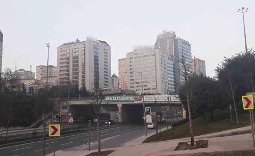 This photo taken Feb. 11, 2019, shows a neighborhood of Istanbul, where a South Korean businessman was assaulted in the middle of January. (Yonhap)