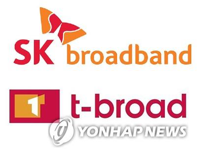 SK Broadband to merge with No. 2 cable operator t-broad