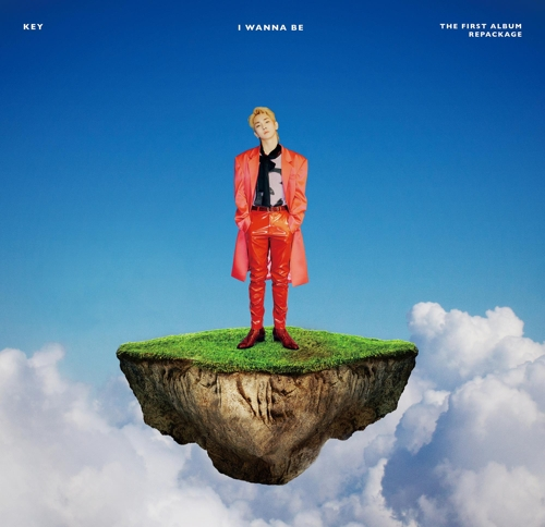 """This promotional image for Key's new album, """"I Wanna Be,"""" is provided by SM Entertainment. (Yonhap)"""