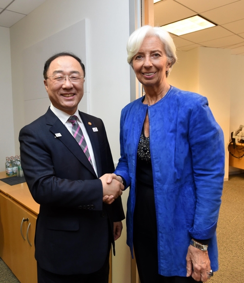 LEAD) IMF welcomes S  Korea's extra budget: finance ministry
