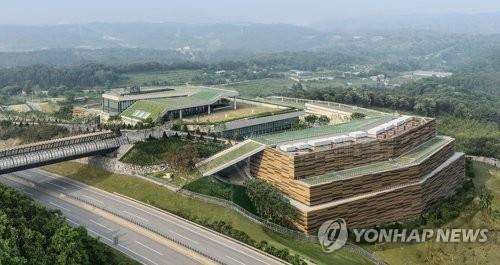 This photo, provided by South Korea's dominant Internet portal and search engine Naver Corp., shows the company's data center, named GAK, northeast of Seoul in Chuncheon, Gangwon Province. (Yonhap)