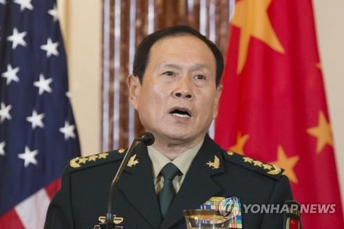 Chinese Defense Minister Wei Fenghe (Yonhap)