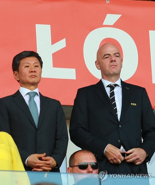 FIFA chief congratulates S. Korea on 2nd place finish at U-20 World Cup