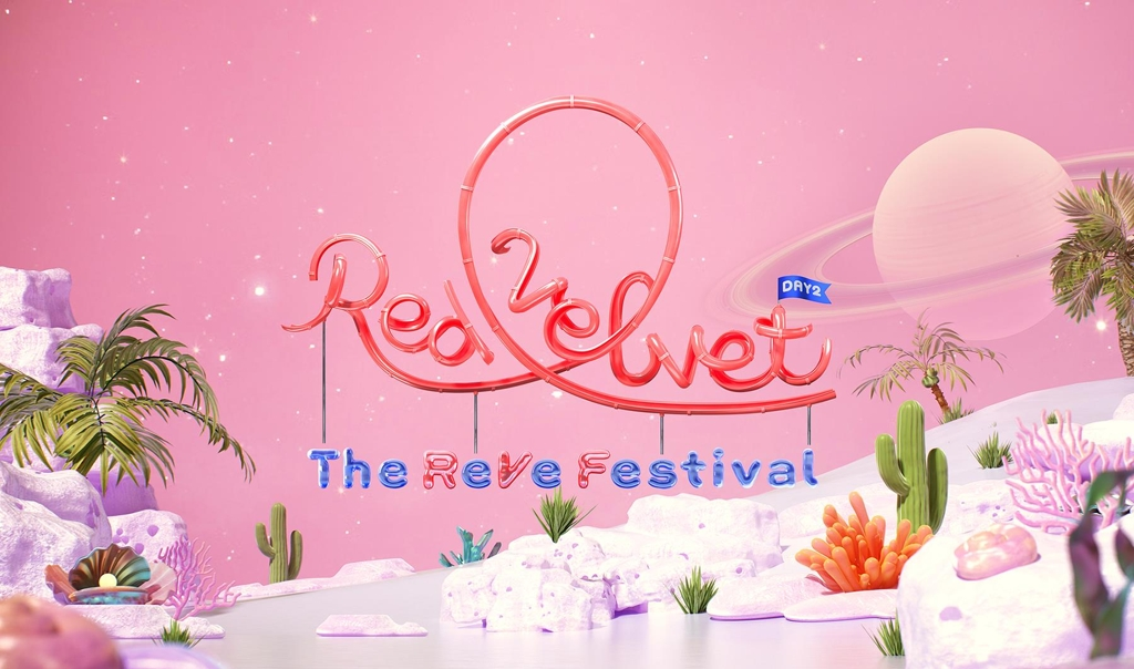 "This teaser image of Red Velvet's new album, ""The ReVe Festival: Day 2,' set for release on Aug. 20, was provided by SM Entertainment. (PHOTO NOT FOR SALE) (Yonhap)"