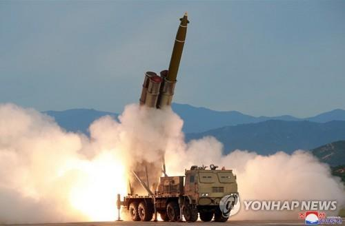 (4th LD) N. Korea fires short-range projectiles toward East Sea: JCS