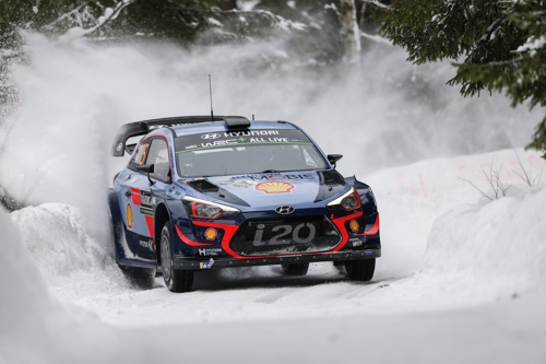 Hyundai takes WRC manufacturers' title this year