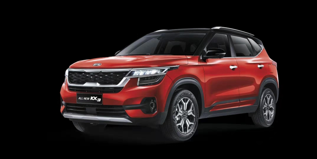 This photo provided by Kia shows the localized version of the Seltos entry SUV for Chinese customers that will be launched in China in the first half of 2020. (PHOTO NOT FOR SALE) (Yonhap)