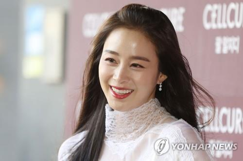 This file photo shows actress Kim Tae-hee. (Yonhap)