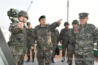 Military chief inspects western border unit, calls for staunch readiness