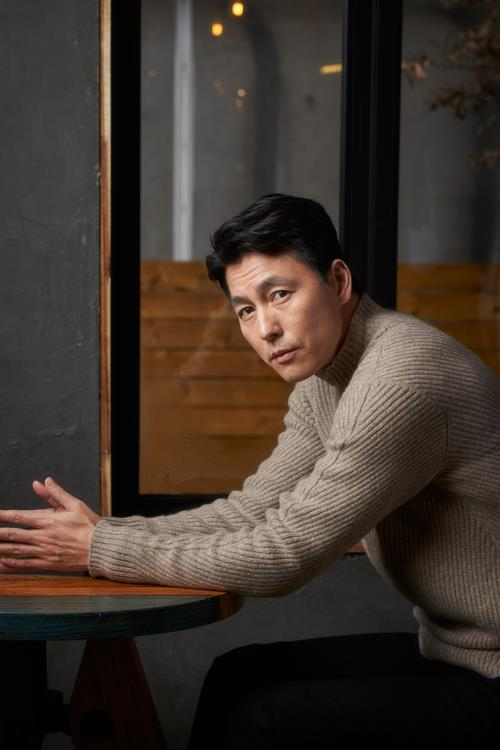 Actor Jung Woo-sung in a photo provided by Megabox Joongang Plus M (PHOTO NOT FOR SALE) (Yonhap)