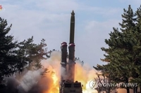 (4th LD) N. Korea fires 2 short-range ballistic missiles into East Sea: JCS