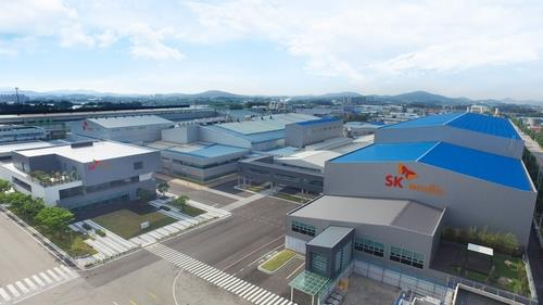 This photo, provided by SKC Co. on June 1, 2020, shows SK Nexilis' plant complex in the southwestern city of Jeongeup, where a sixth plant will be built. (PHOTO NOT FOR SALE) (Yonhap)