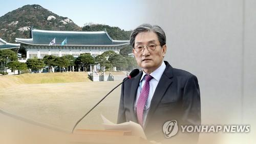 This image created by Yonhap News TV shows presidential Chief of Staff Noh Young-min. (Yonhap)