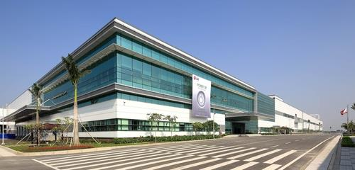 This photo provided by LG Electronics Inc. shows the company's plant in Haipong, Vietnam. (PHOTO NOT FOR SALE) (Yonhap)