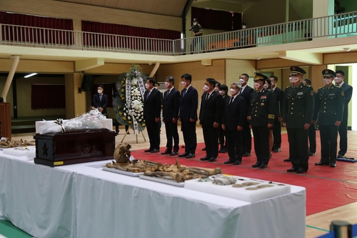 (LEAD) S. Korea to repatriate 117 sets of remains of Chinese troops