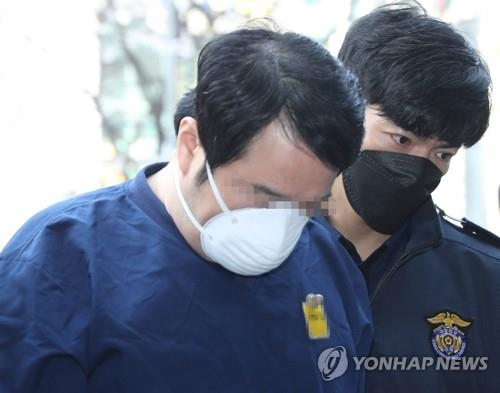 This file photo shows the former head of Lime Asset Management Co.'s alternative investment division, identified only as Kim. (Yonhap)