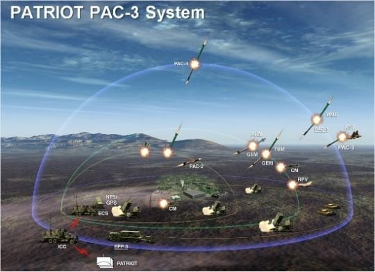 This image, provided by the arms procurement agency on Dec. 12, 2020, shows the Patriot missile defense system. (PHOTO NOT FOR SALE) (Yonhap)