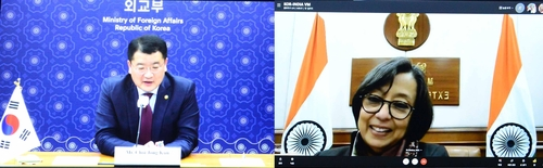 Vice FM holds video talks with Indian counterpart on bilateral cooperation