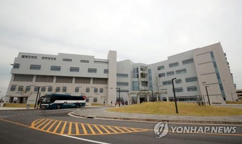 This photo taken on Sept. 20, 2019, shows the Brian D. Allgood Army Community Hospital that opened at the U.S. military base of Camp Humphreys in Pyeongtaek, south of Seoul, the same day. (Yonhap)