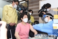 (2nd LD) S. Korea begins vaccinations amid hopes for herd immunity by Nov.