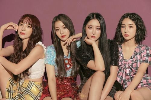 This photo, provided by Brave Entertainment, shows girl group Brave Girls. (PHOTO NOT FOR SALE) (Yonhap)