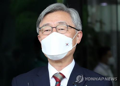 This photo shows Choe Jae-hyeong, former chairman of the Board of Audit and Inspection. (Yonhap)