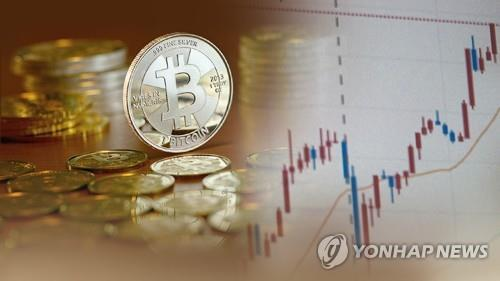 This image shows transactions of cryptocurrencies. (Yonhap)