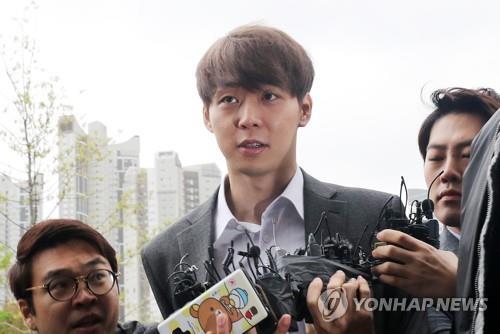 This file photo taken on April 26, 2019, shows singer and actor Park Yoo-chun. (Yonhap)