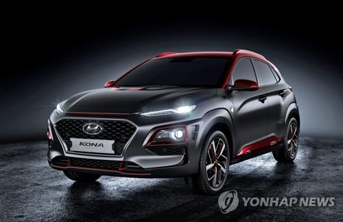 Kona Edition Iron Man. ⓒ Hyundai Motor Co.