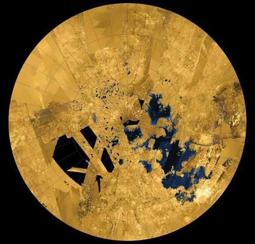 토성 위성 타이탄의 바다, 비밀 벗는다 | 연합뉴스
