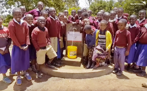 탄자니아에서 펼친 월드비전의 식수사업