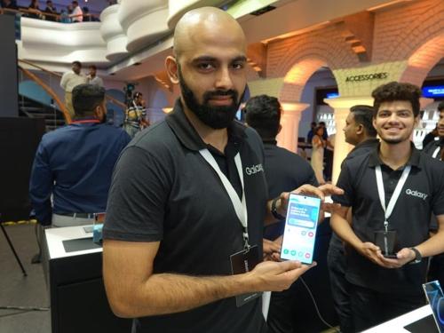 삼성전자 갤럭시노트10, 인도 벵갈루루서 출시