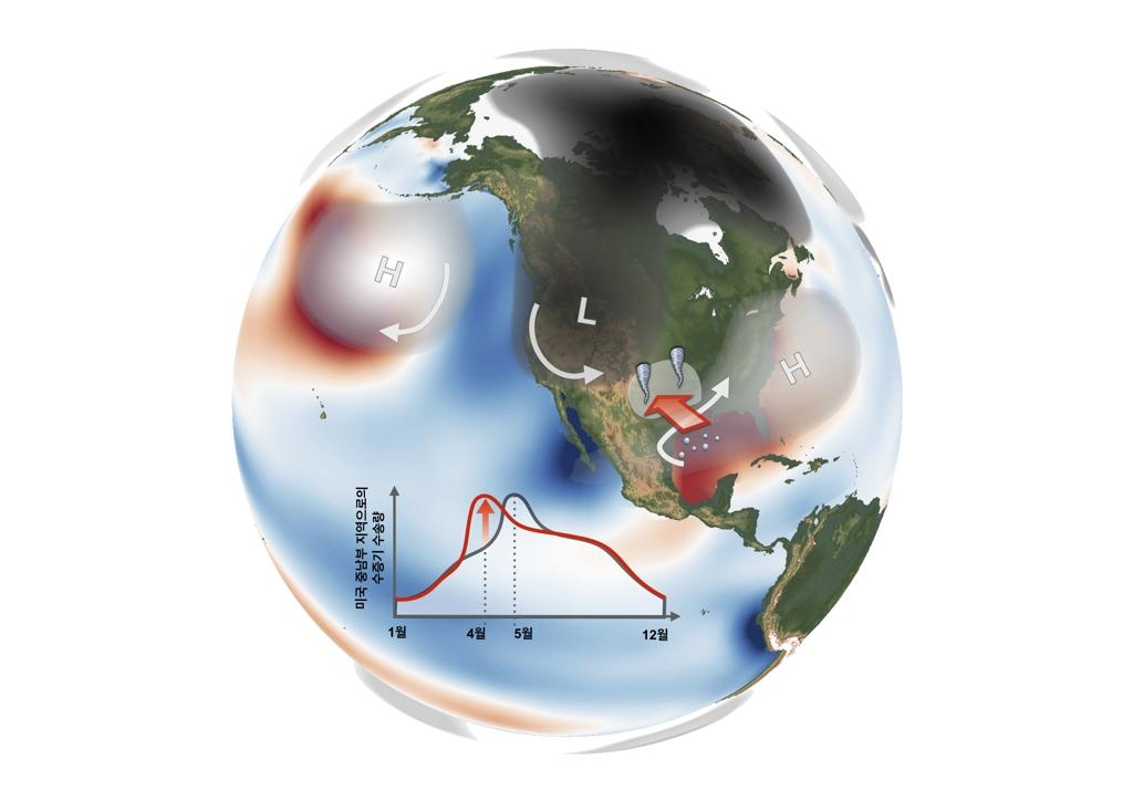 예측 불가 '북미 토네이도' 해수면 온도로 알아맞힌다 | 연합뉴스